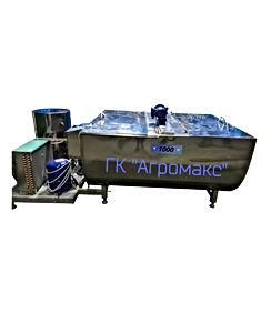 Охладитель молока горизонтальный УОМОТ500