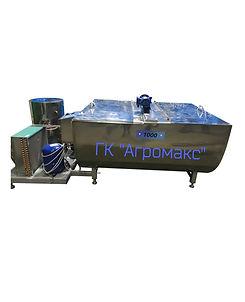 Охладитель молока горизонтальный УОМОТ1000