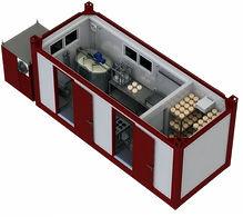 Модульный комплект для производства сыров