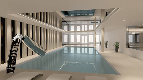 DN Drawings Swimming Pool and Gym 5- 3D
