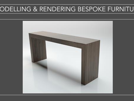 Modelling and Rendering Bespoke Furniture