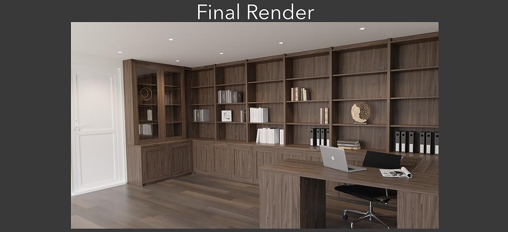 Photorealistic 3D Rendering
