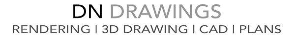 DN Drawings CGI, CAD, Rendering and drawings logo
