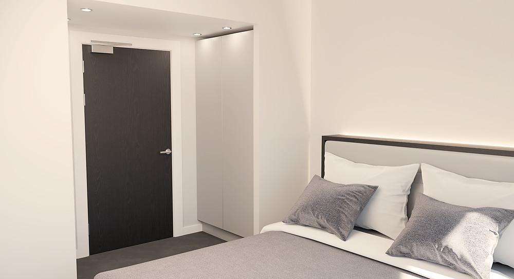 DN Drawings - Hotel - 3D Rendering.