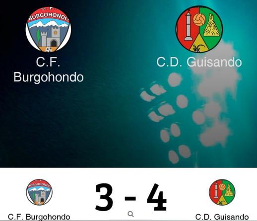 CF BURGOHONDO 3 - 4 CD GUISANDO