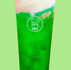 Melon Cream Soda Float