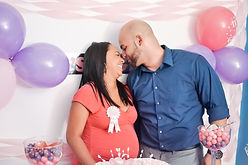 Married couple expecting a child