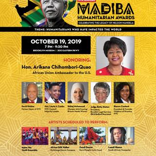 2019 Nelson Mandela Humanitarian Awards