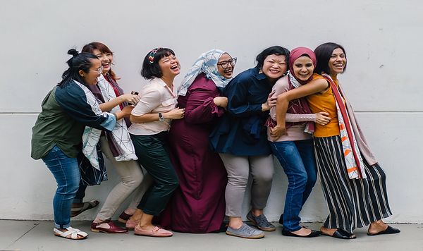Group of laughing women.png