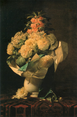 図10 ジョルジュ・ジャナン《花瓶に生けた花》