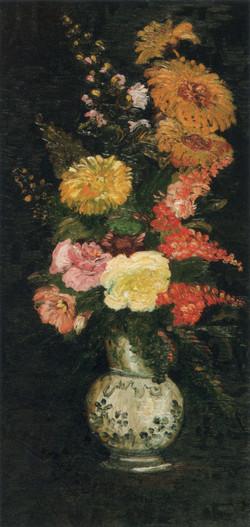 図7《花瓶の花》(F286 / JH1127)