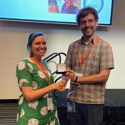 Erinn Fagan-Jeffries, 2019 ECR Award recipient