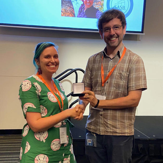 Erinn Fagan-Jeffries, 2019 ECR Award recipient