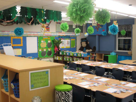 Classroom Décor: Too Much?