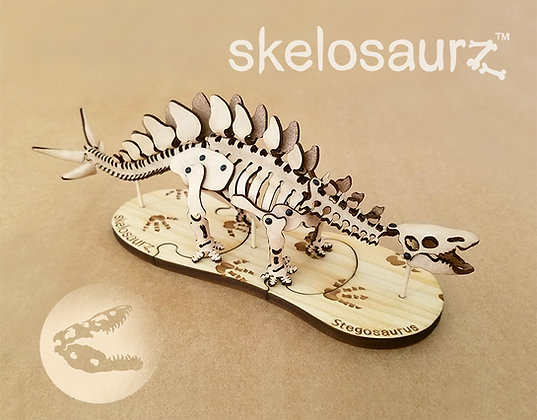 Stegosaurus Leather Kit