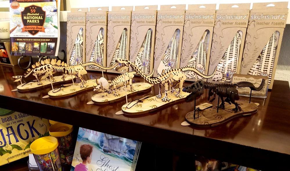Skelosaurz, leather, fossils, skeletons, kits, water-forming, dinosaur, ringling, school of art, design, gallery, madeby, alumni, artist, j.v. becker, janelle, becker, leathercraft, sculptor, paleo, paleoart, diy