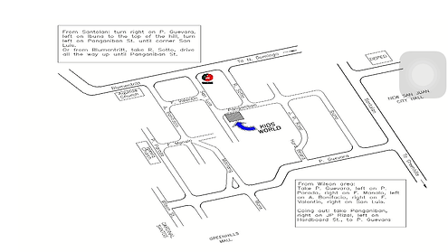 map to Onse campus