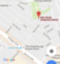 map to NGA campus