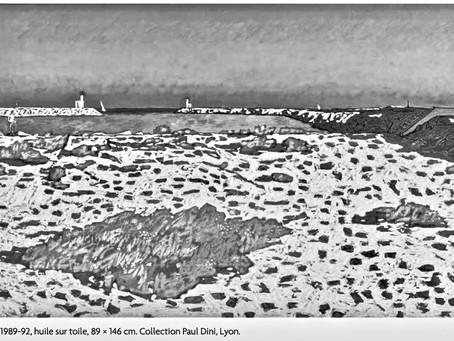 Rentrée 2019 : cours Peinture _la plage à  Carnon , d'après  V. Bioules .