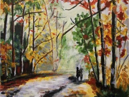 C'EST L'AUTOMNE - Cours de Peinture, Mes élèves sont formidables .