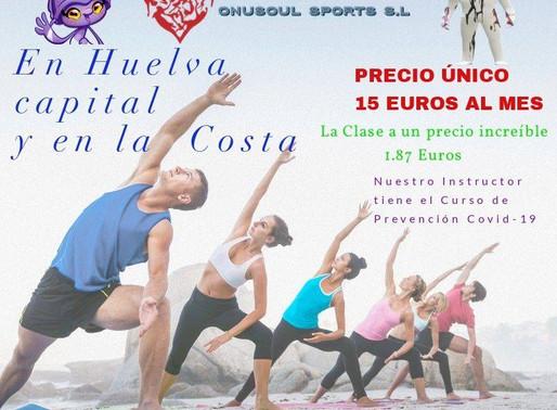 Este verano en Huelva y en nuestra maravilla Costa tenemos las mejores clases de Yoga y Pilates