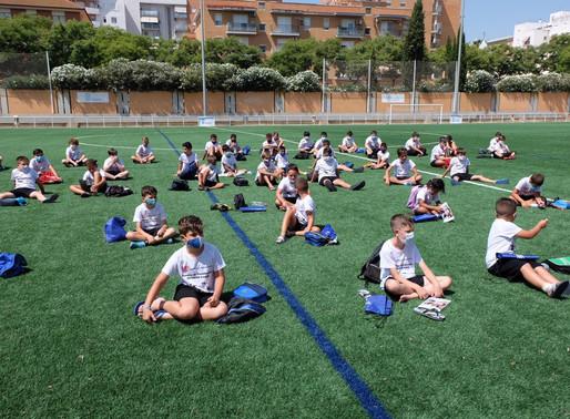 Campus de Fútbol, Acuagym, Yoga Pilates, y SOS Acuático, son las actividades realizadas en Julio.