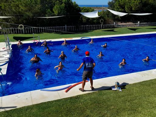 Éxito en las piscinas aún con Covid 19-SARS-CoV-2