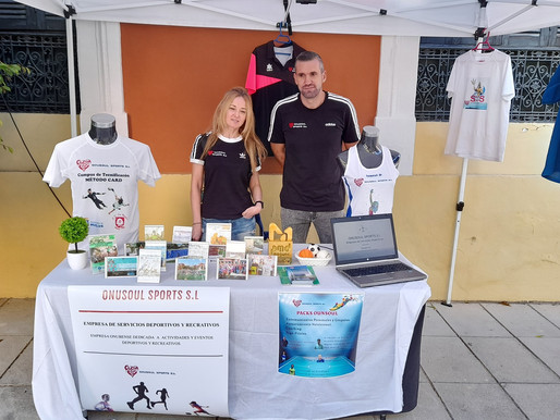 Onusoul Sports S.L, estuvo el pasado sábado en la IV Feria del deporte de Huelva.
