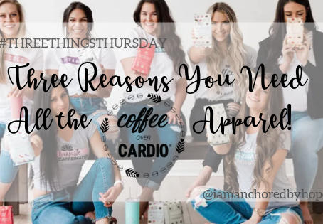 Three Reasons You Need All the Coffee Over Cardio Apparel