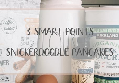 3 Smart Point Snickerdoodle Pancakes