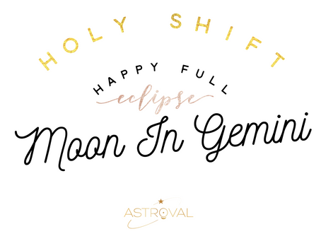 The Gemini Full Moon Eclipse is here!