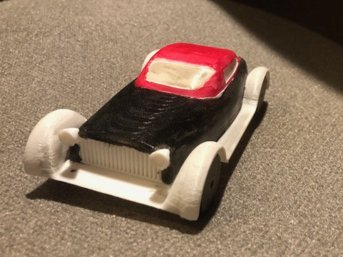 3D Printed Rolls Royce Supercar