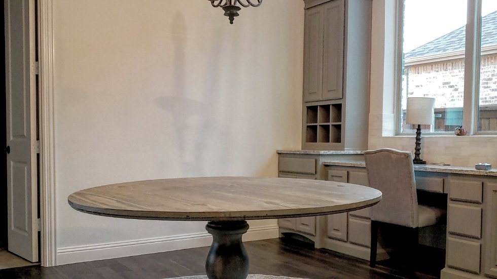 Round Monastery Dining Table