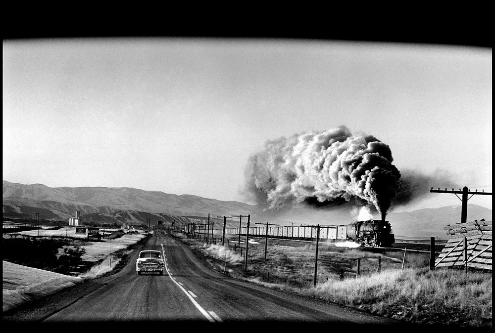 "Elliot Erwitt - ""Wyoming"" (1954)"