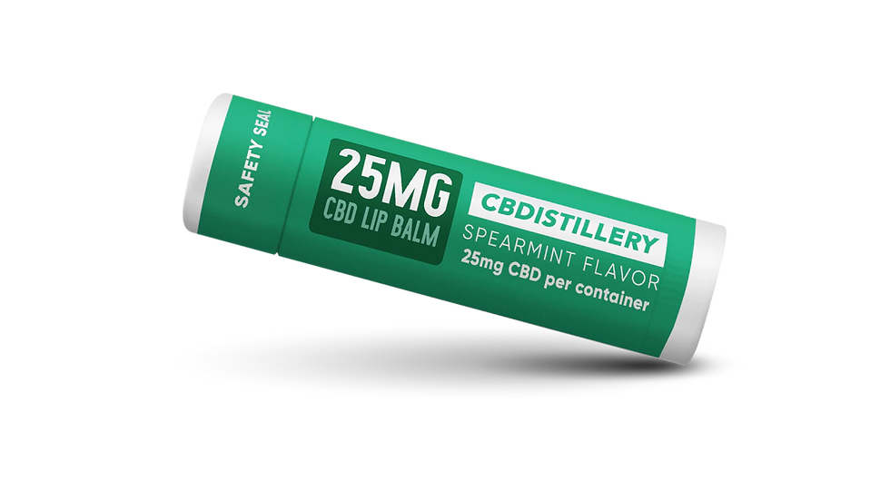 CBD Lip Balm – 25mg x 25 tubes