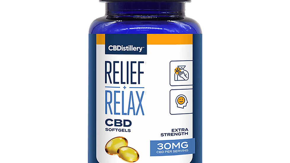 Full Spectrum CBD Softgels - 30mg - 60 Count x 2 bottles