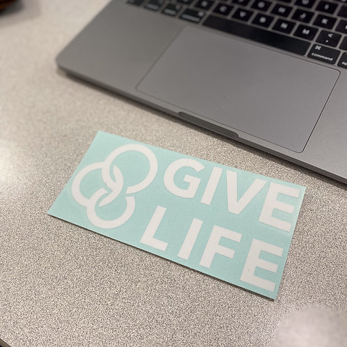 YFC Give Life Decal
