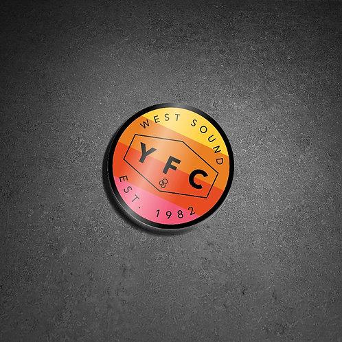 YFC Circle Sticker