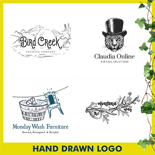 Hand Drawn Logo Design - Logo Street