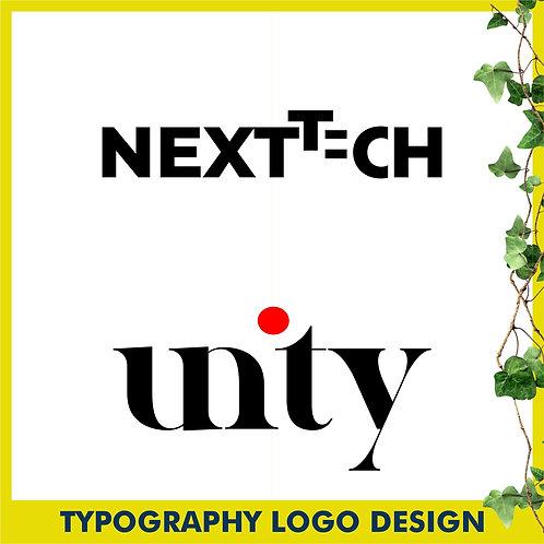 Typography Logo Design - Logo Street