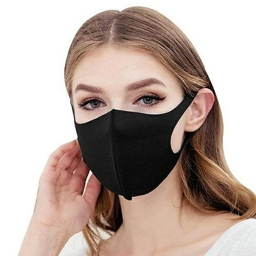 Waschbare Atemschutzmaske aus Polyurethan.