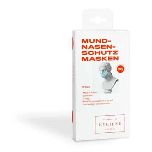 Mund Nasen Masken für Erwachsene 10er Pack