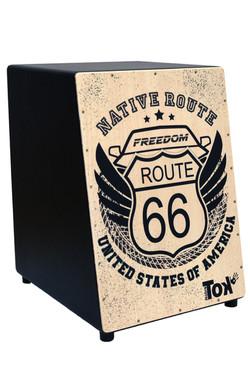 Cajón Acústico Route 66