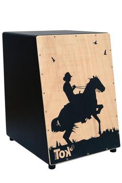 Cajón Acústico Cawboy