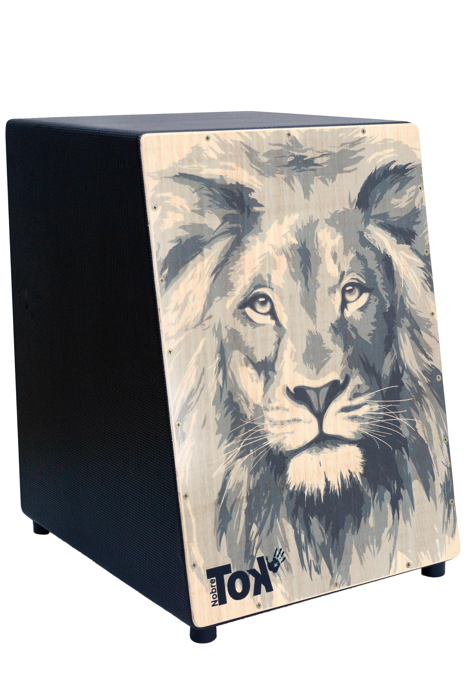 Cajón Acústico Leão