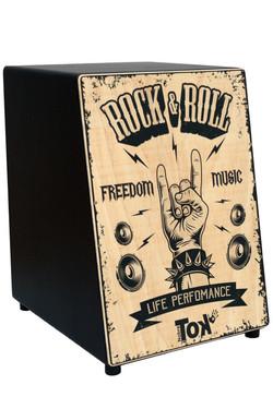 Cajón Acústico Rock & Roll