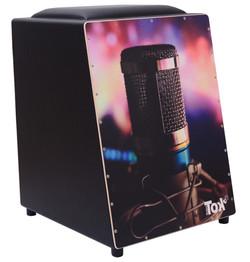 Cajón Elétrico Microfone