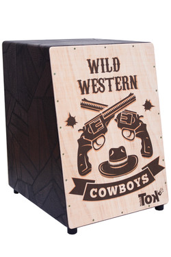 Cajón Acústico Wild Western