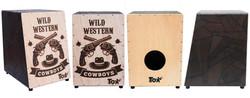 Cajón Acústico Wild Western (cód. 311)