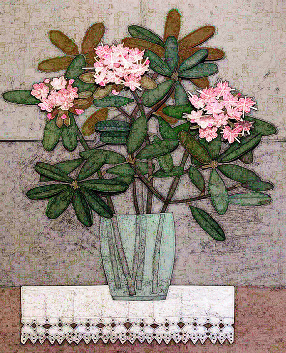 Mid Century Rhododendron